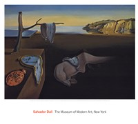 "The Persistence of Memory, 1931 by Salvador Dali, 1931 - 27"" x 24"""