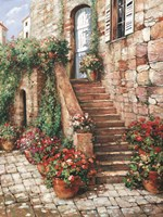 Stone Stairway, Perugia by Roger Duvall - various sizes