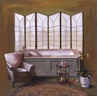 Corromandel Bath II Fine Art Print