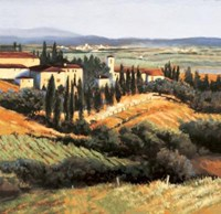 Distant Siena Fine Art Print