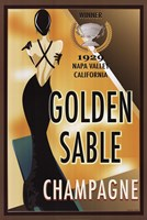 "Golden Sable I by Poto Leifi - 24"" x 36"""