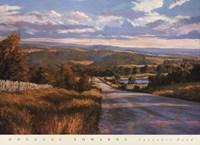 Lavender Road Fine Art Print