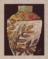 Sumach Leaf Pottery Fine Art Print