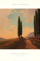 "Tuscan Path II by Allan Stephenson - 24"" x 36"" - $23.49"