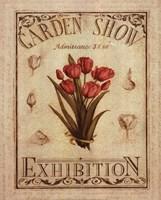 Garden Show II Fine Art Print