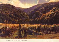 """Le Luberon by Sophie Anderson - 36"""" x 26"""""""