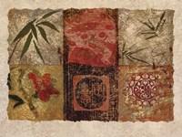 Oriental Medley I Fine Art Print