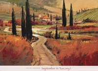 September In Tuscany I Framed Print