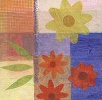 Brown Pattern Flower Fine Art Print