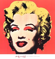 Marilyn, 1967 (on red ground) Fine Art Print