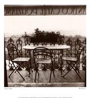 "La Antico Caffe by Alan Blaustein - 13"" x 14"""