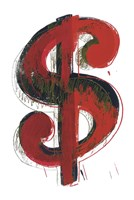 Dollar Sign, 1981 Fine Art Print