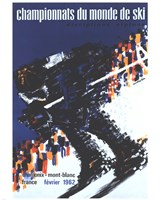 Chamonix World Championships Fine Art Print