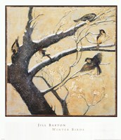Winter Birds Fine Art Print