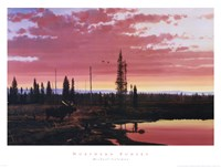 """Northern Sunset by Michael Coleman - 32"""" x 24"""""""