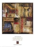 Fragments Of Rome IV Fine Art Print