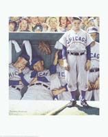 Dugout (Bottom of the 9th) Fine Art Print