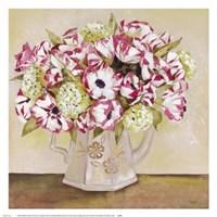 Floral Teapot I Fine Art Print