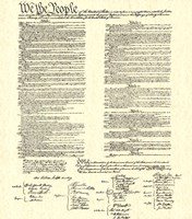 Constitution (Document) Fine Art Print