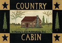 "Country Cabin by Dotty Chase - 20"" x 14"""