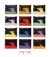 Twelve Electric Chairs, 1964/65 Fine Art Print