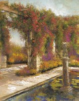 English Garden I Fine Art Print