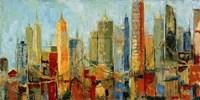 Metro Heights Fine Art Print