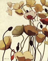 Pavots Ondule I Fine Art Print