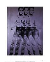 """Elvis (triple Elvis), 1963 by Andy Warhol, 1963 - 11"""" x 14"""""""