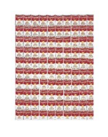 """One Hundred Cans, 1962 by Andy Warhol, 1962 - 11"""" x 14"""""""
