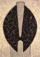 Masque Aborigaine II Fine Art Print