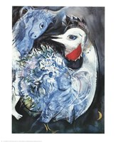 Feathers in Bloom Fine Art Print