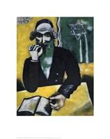 Rabbi, The Pinch of Snuff Fine Art Print