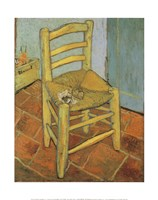 Van Gogh's Chair and Pipe, c.1888 Fine Art Print