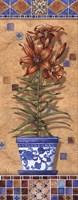Flower In Greece II - Mini Framed Print
