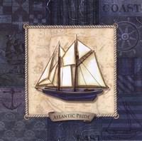 Sailing II Framed Print