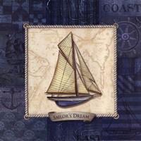 Sailing III Fine Art Print