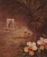 West Indies Sunset II - Mini Framed Print