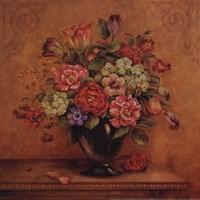 "Harmony With Reds II - Petite by Pamela Gladding - 12"" x 12"", FulcrumGallery.com brand"