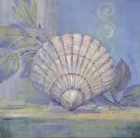 Tranquil Seashells IV - Mini Framed Print
