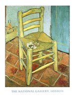 Van Gogh's Chair Fine Art Print