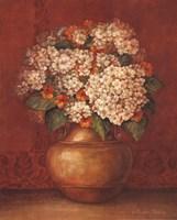 "Tuscan Hydrangeas by Pamela Gladding - 16"" x 20"""