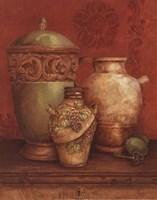 Tuscan Urns I - Petite Fine Art Print