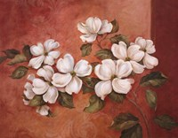 "Dogwoods by Pamela Gladding - 28"" x 22"""