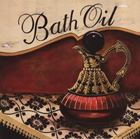 Bath Oil Framed Print