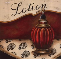 Lotion Framed Print