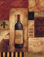 Chateau Vin - Mini Framed Print