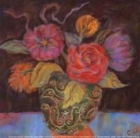"""Orange Shadow - Petite by Carolyn Holman - 5"""" x 5"""""""