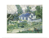 Houses at Auvers, c.1890 (Detail) Fine Art Print