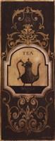"""Tea Time I - Petite by Kimberly Poloson - 4"""" x 10"""""""